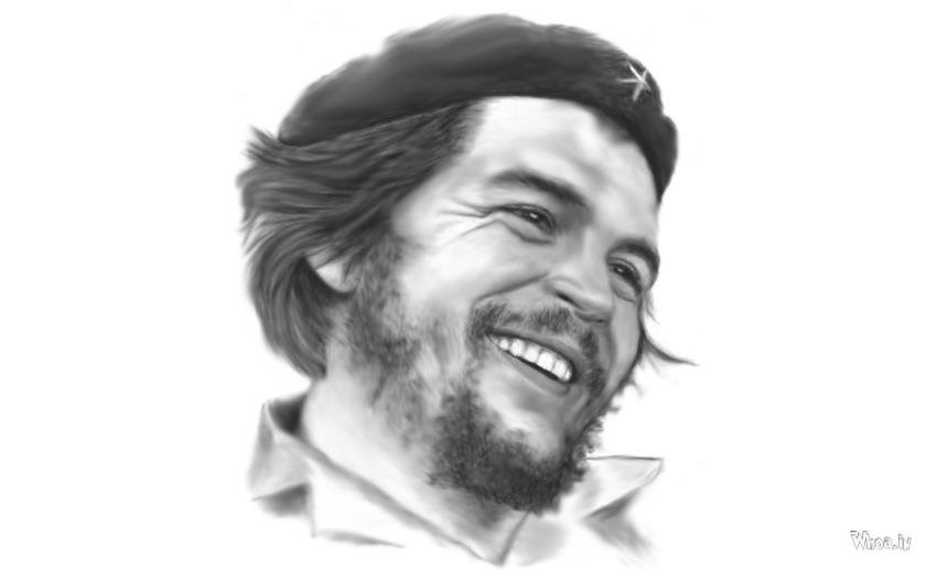 che guevara face and quotes with red backgrounds hd wallpapers