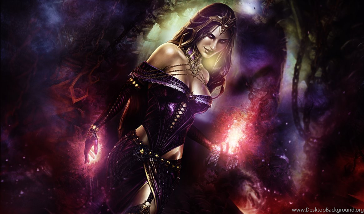 Liliana Of The Veil Mat By Ribu Of Blood On Deviantart Desktop