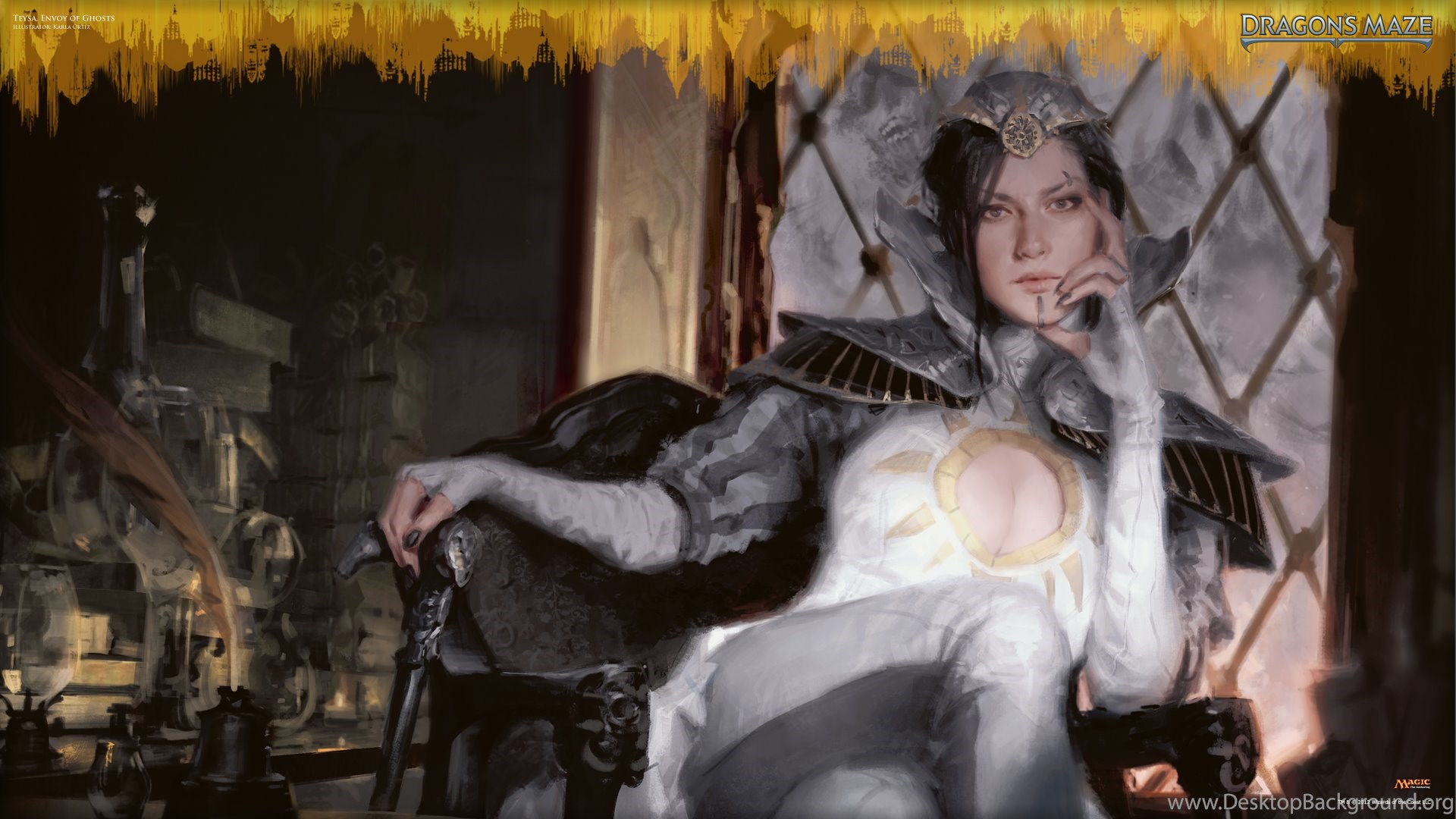 Wallpapers Liliana Vess Of The Week Teysa Envoy Ghosts Daily Mtg