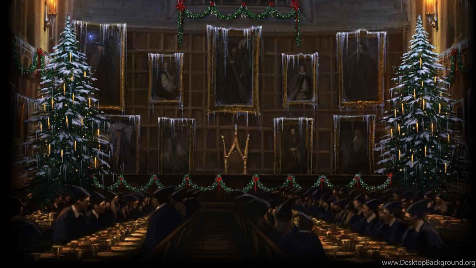 картинки на рабочий стол гарри поттер рождество того, что