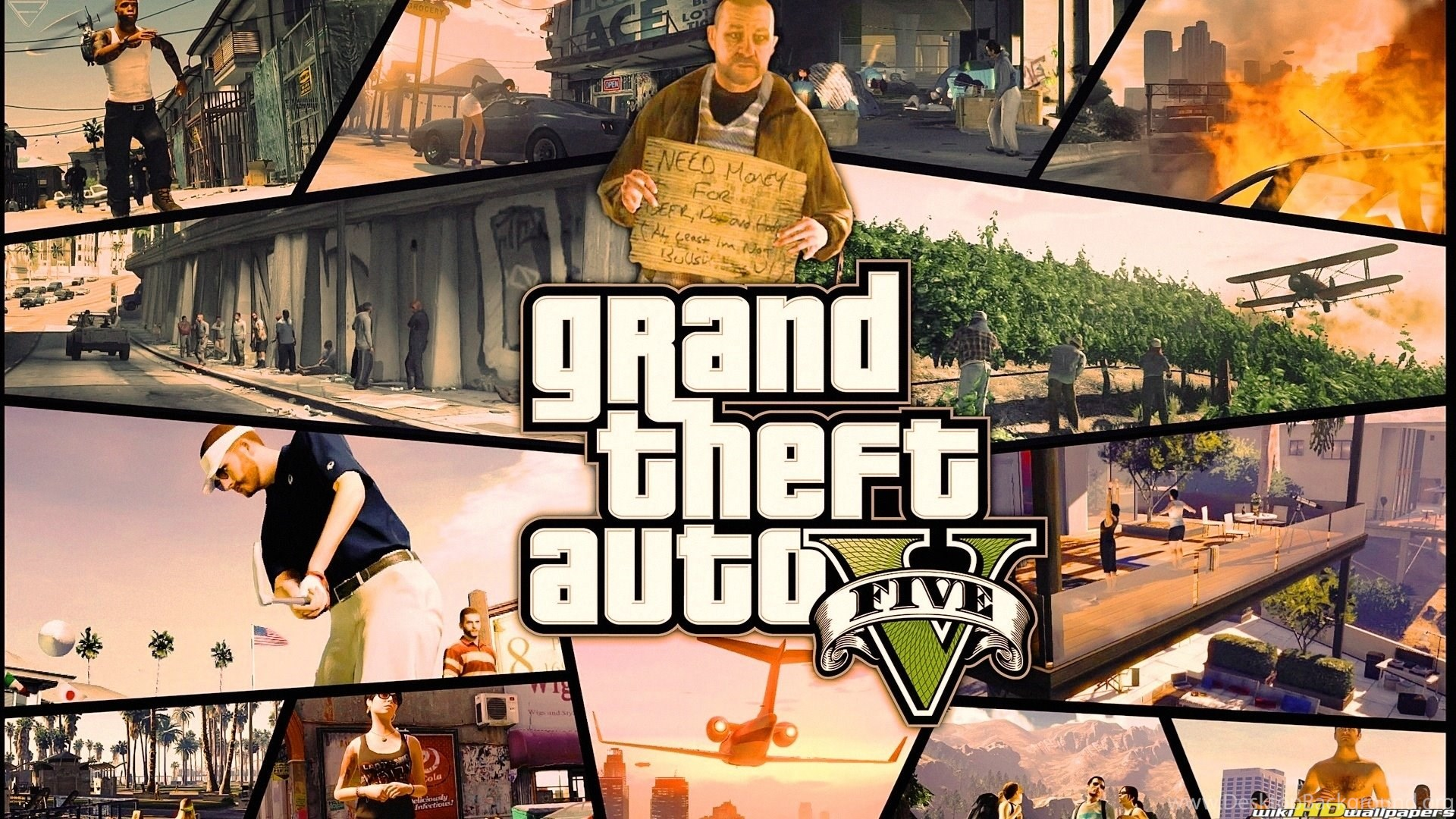 Grand Theft Auto San Andreas Hd Wallpapers Desktop Background