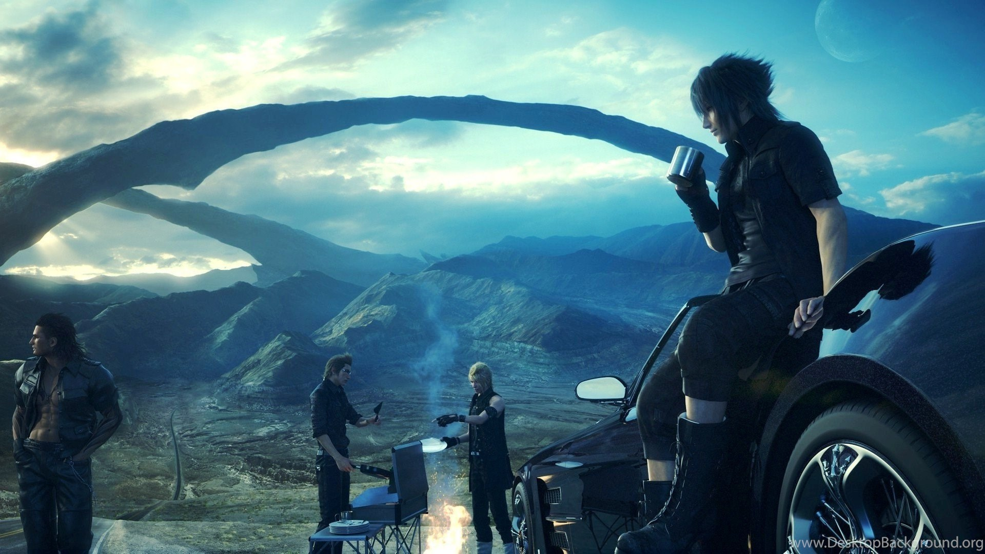 10 best final fantasy xv wallpapers hd inspirationseek desktop