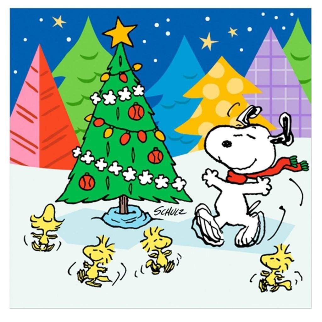 original size 1324kb - Snoopy Christmas Wallpaper