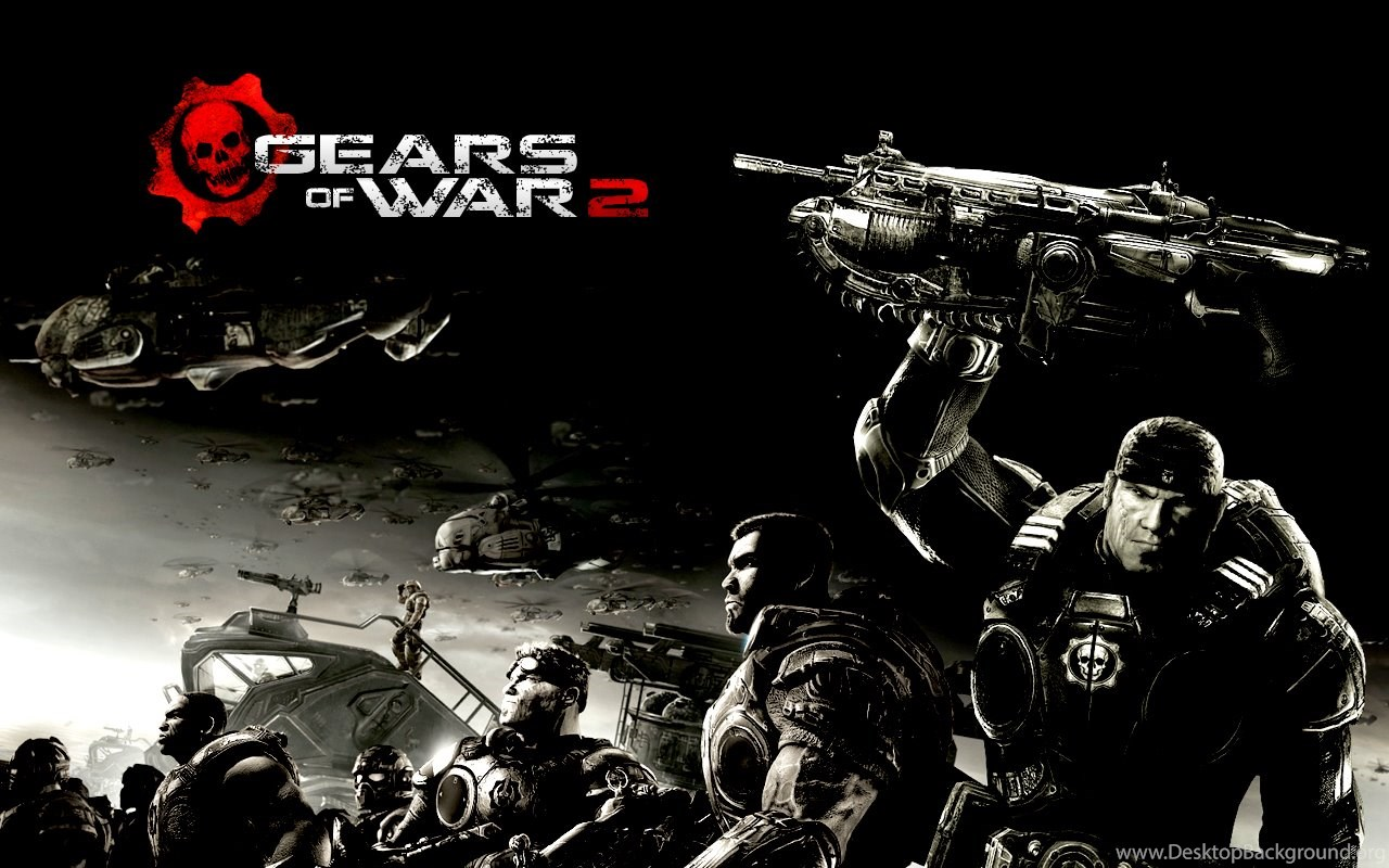 gears of war 2 wallpapers desktop background