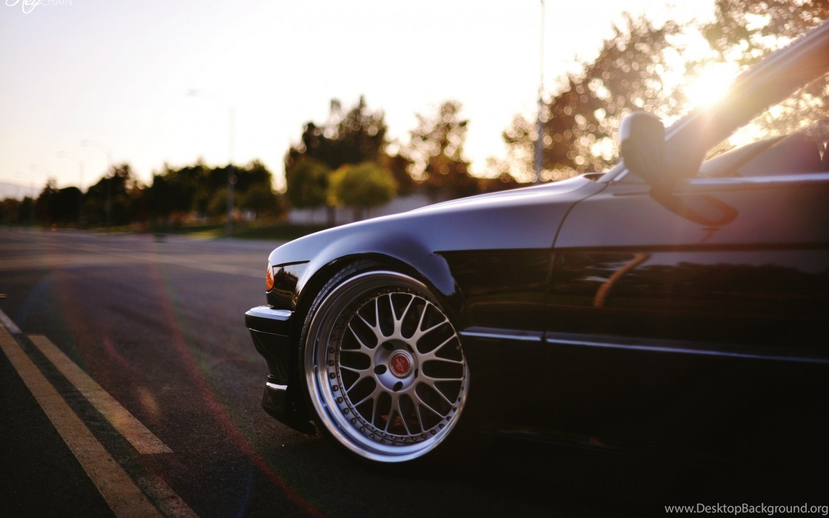 Download Wallpapers Bmw E38 750il Classic Tuning Stance