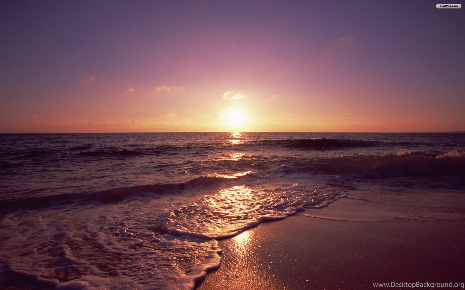 YouWall Okinawa Beach Sunset Wallpapers Wallpaperwallpapers
