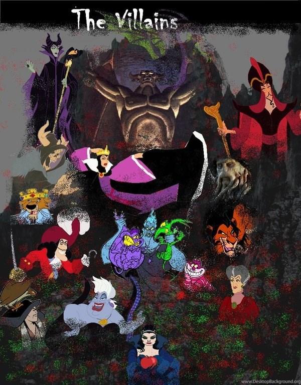 Deviantart More Like Disney Villains Wallpapers By Panda Ai Desktop Background