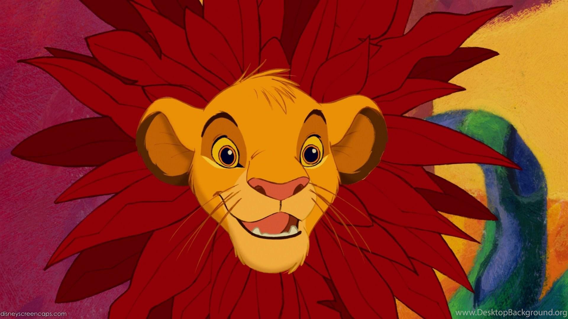 Simba Lion King Wallpapers Desktop Background