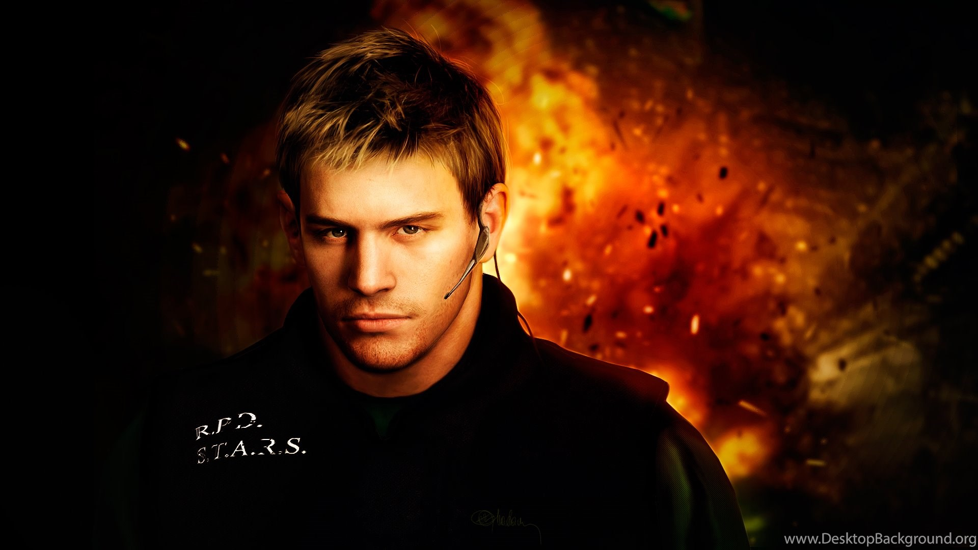 Photorealistic Chris Redfield Resident Evil 5 By Push Pulse On