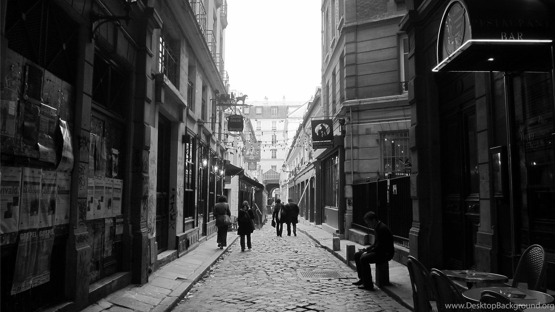 Black And White Photographs Of Paris Wallpapers Hd 1920x1080