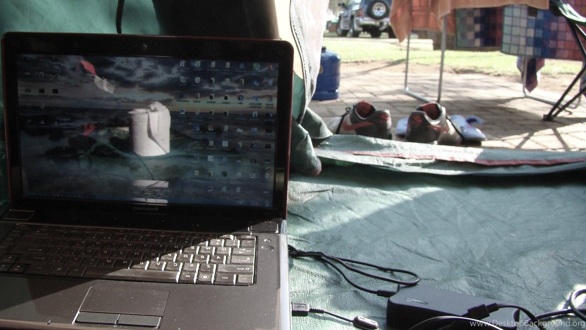 Abstract, Lenovo, Windows 7, Tents Wallpapers HD Desktop