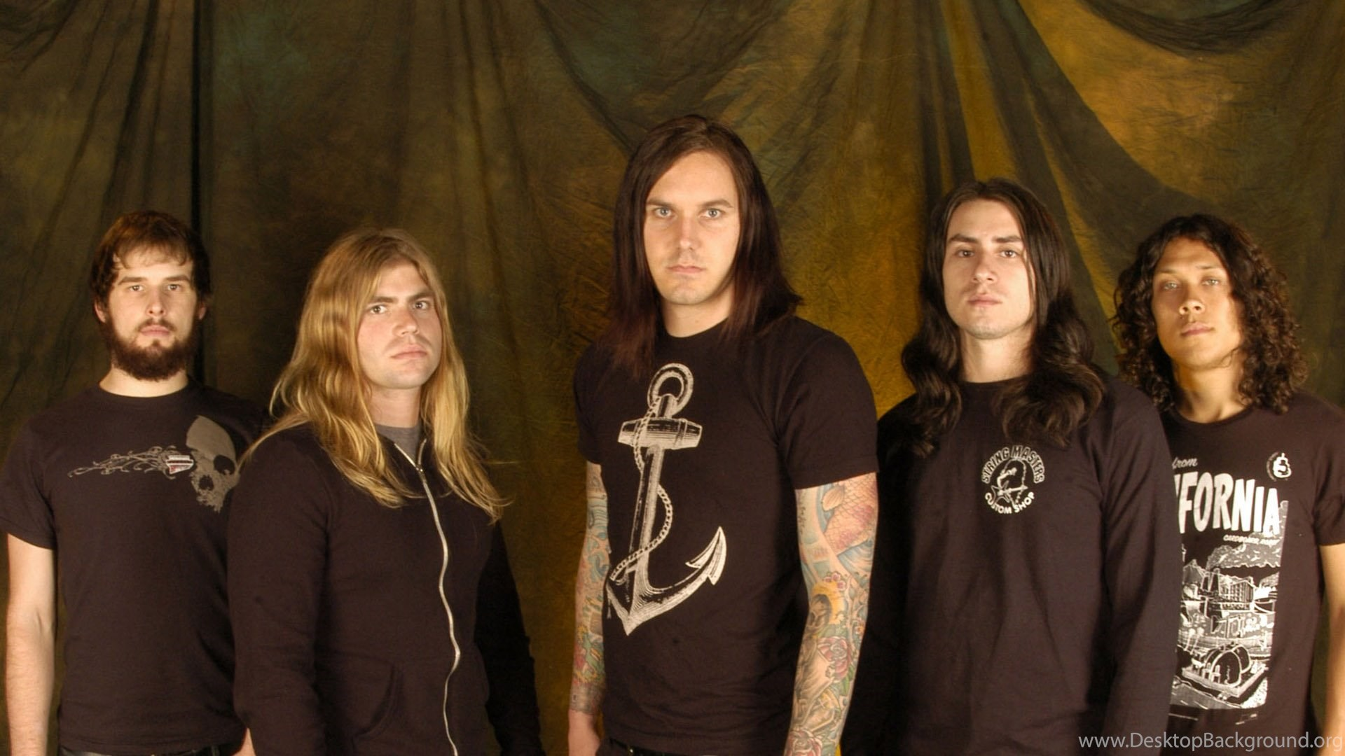 Wallpapers Metalcore As I Lay Dying Home Theater Backdrops