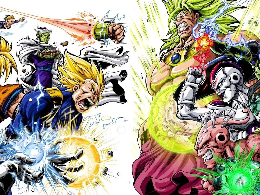 Heroes Villains Dragon Ball Z Gt Wallpapers Desktop Background