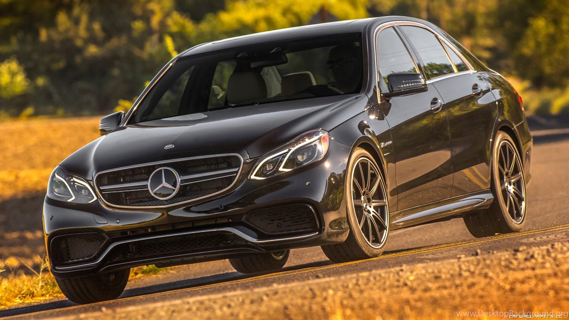 Car Wallpapers Mercedes Benz E63 AMG 4MATIC US spec 2014 Desktop