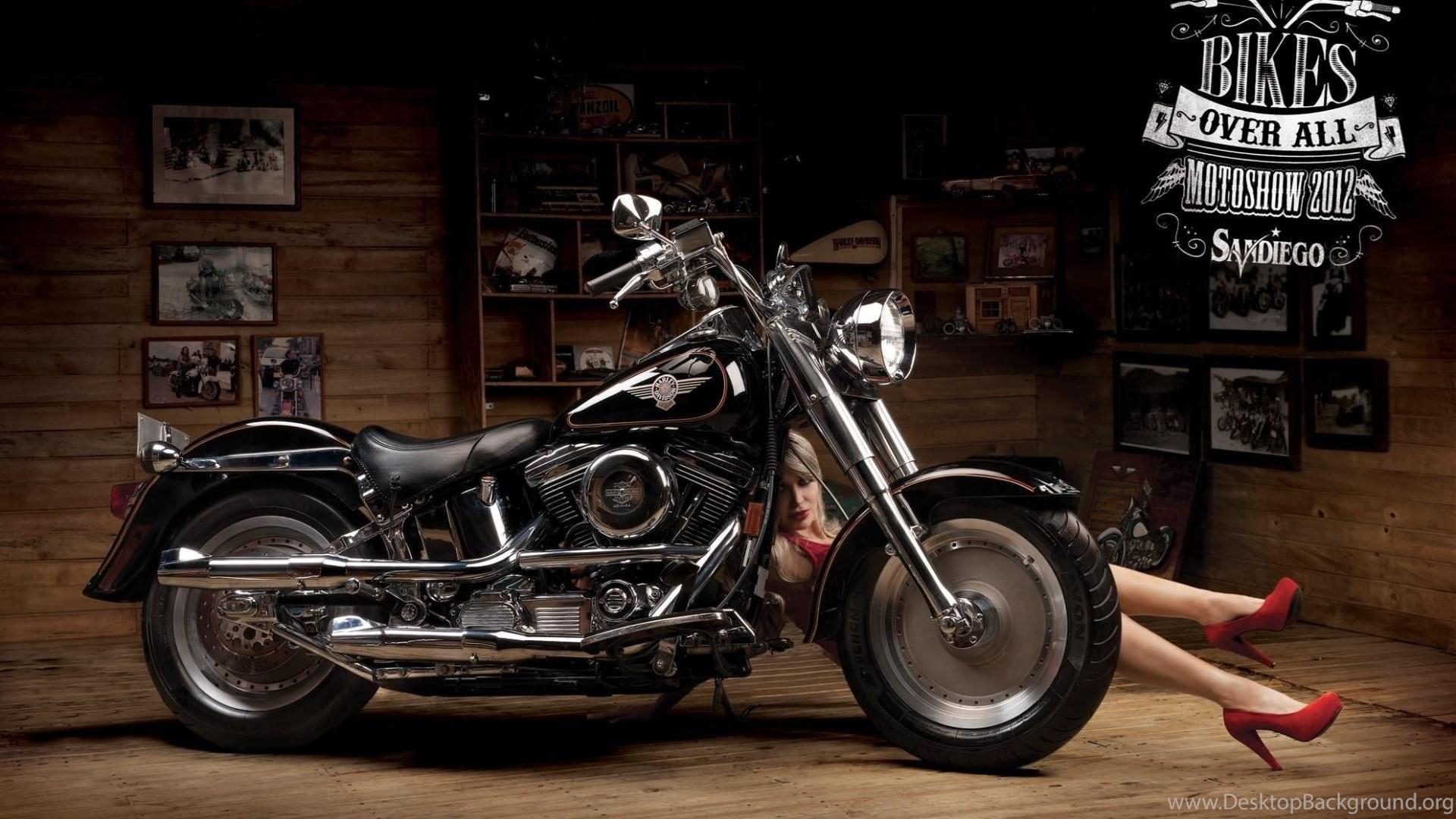 Harley Davidson Fatboy Wallpapers Desktop Background