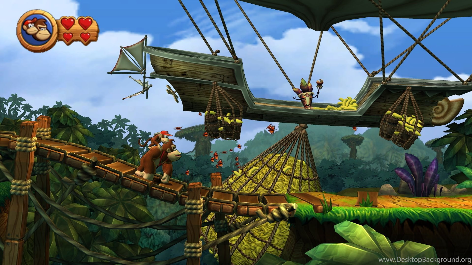 19 Donkey Kong Country Tropical Freeze Hd Wallpapers Desktop