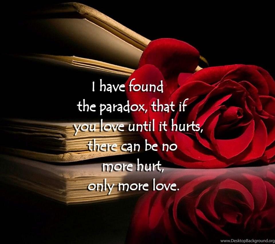 Love hurts quotes wallpapers wallpapers cave desktop - Y love hurt wallpaper ...