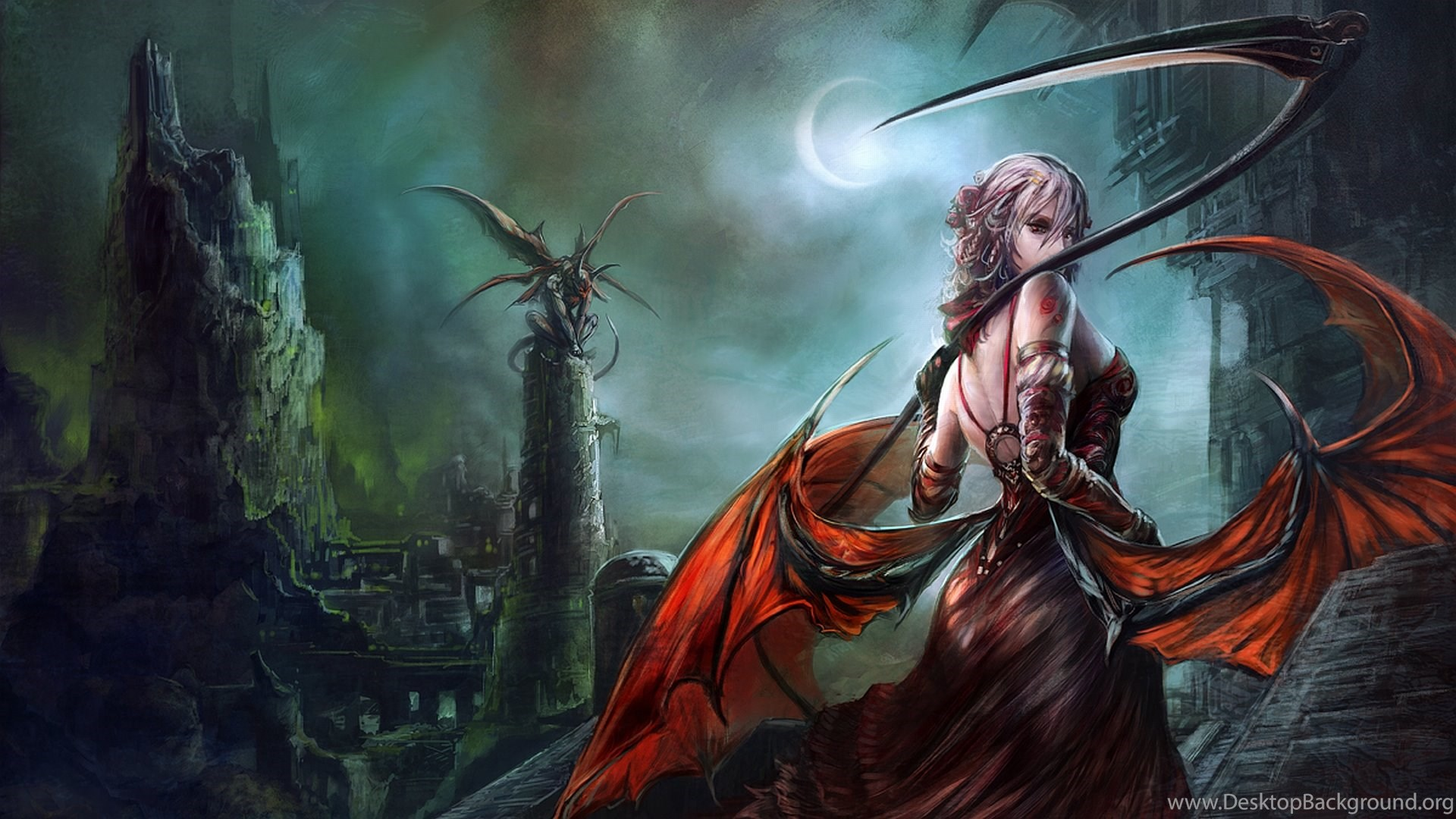 female fantasy warrior wallpapers desktop background