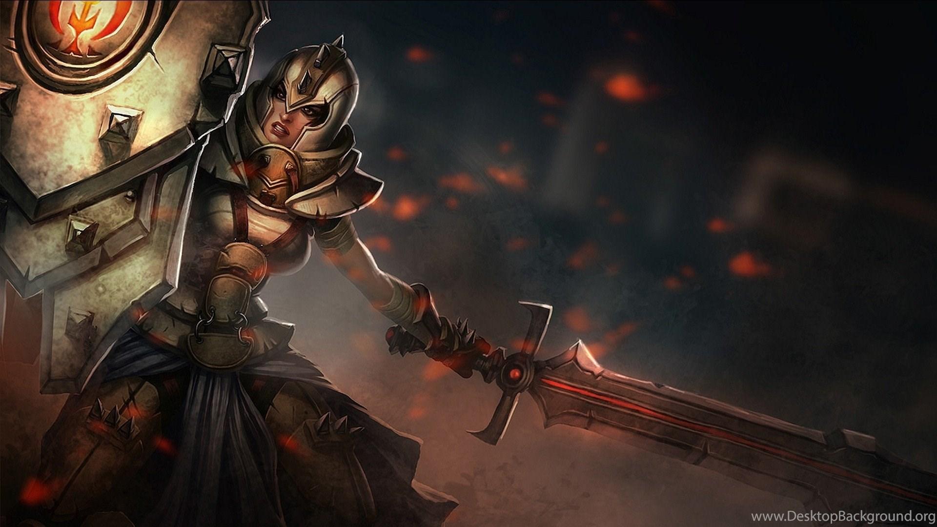 League Of Legends Leona Wallpapers Hd Desktop Background