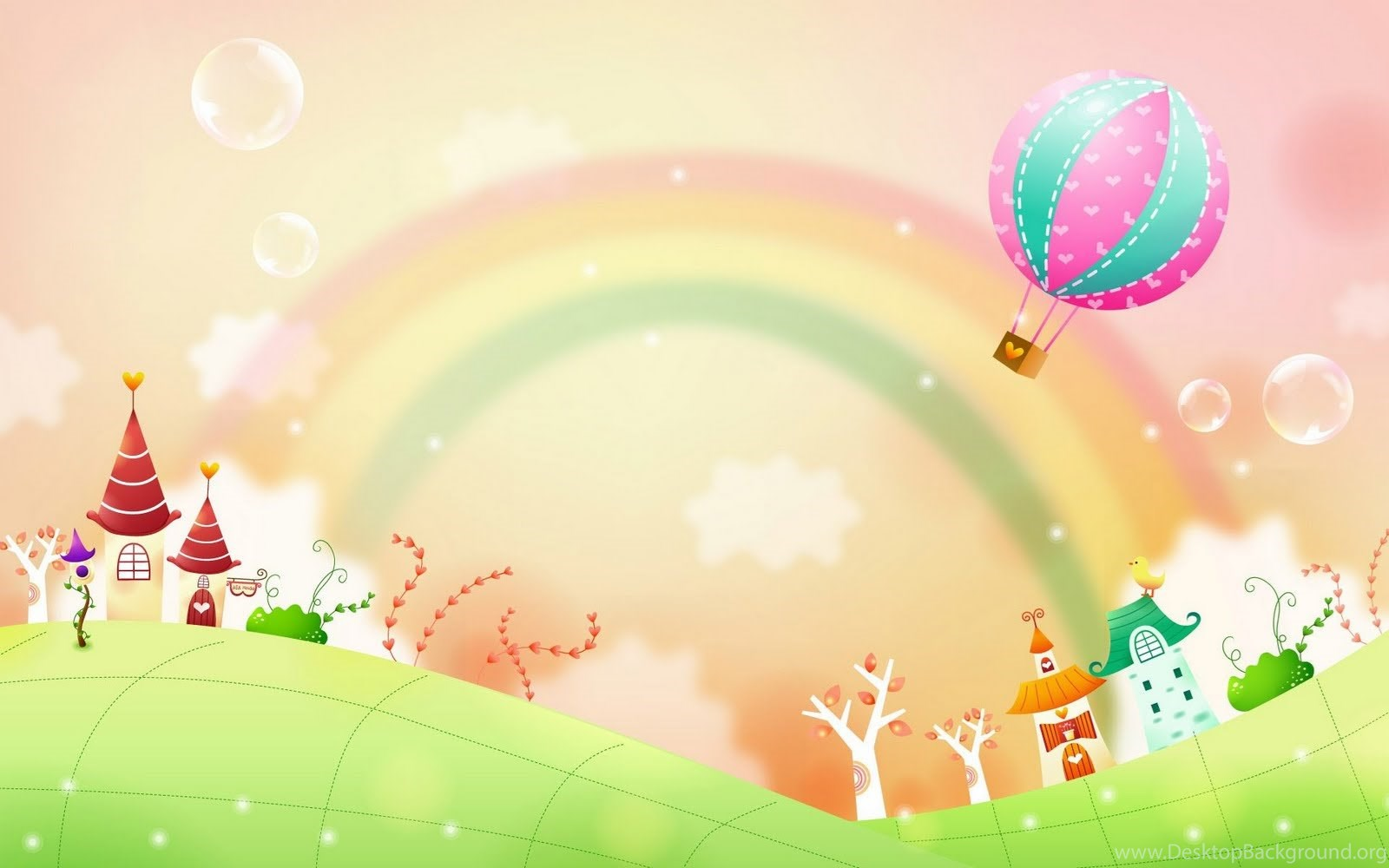 Gambar Dunia Kartun Fantasi Yang Cantik Cantik Hd Wallpapers Android Desktop Background