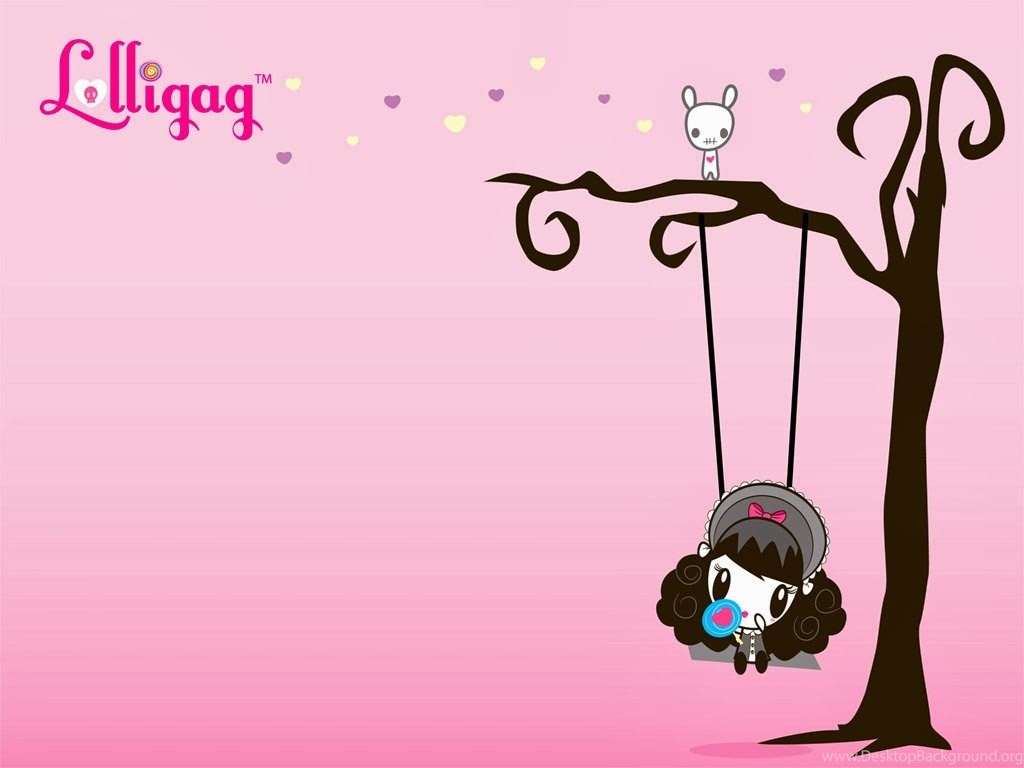 Walpaper Kartun Lucu Lolligag Desktop Background