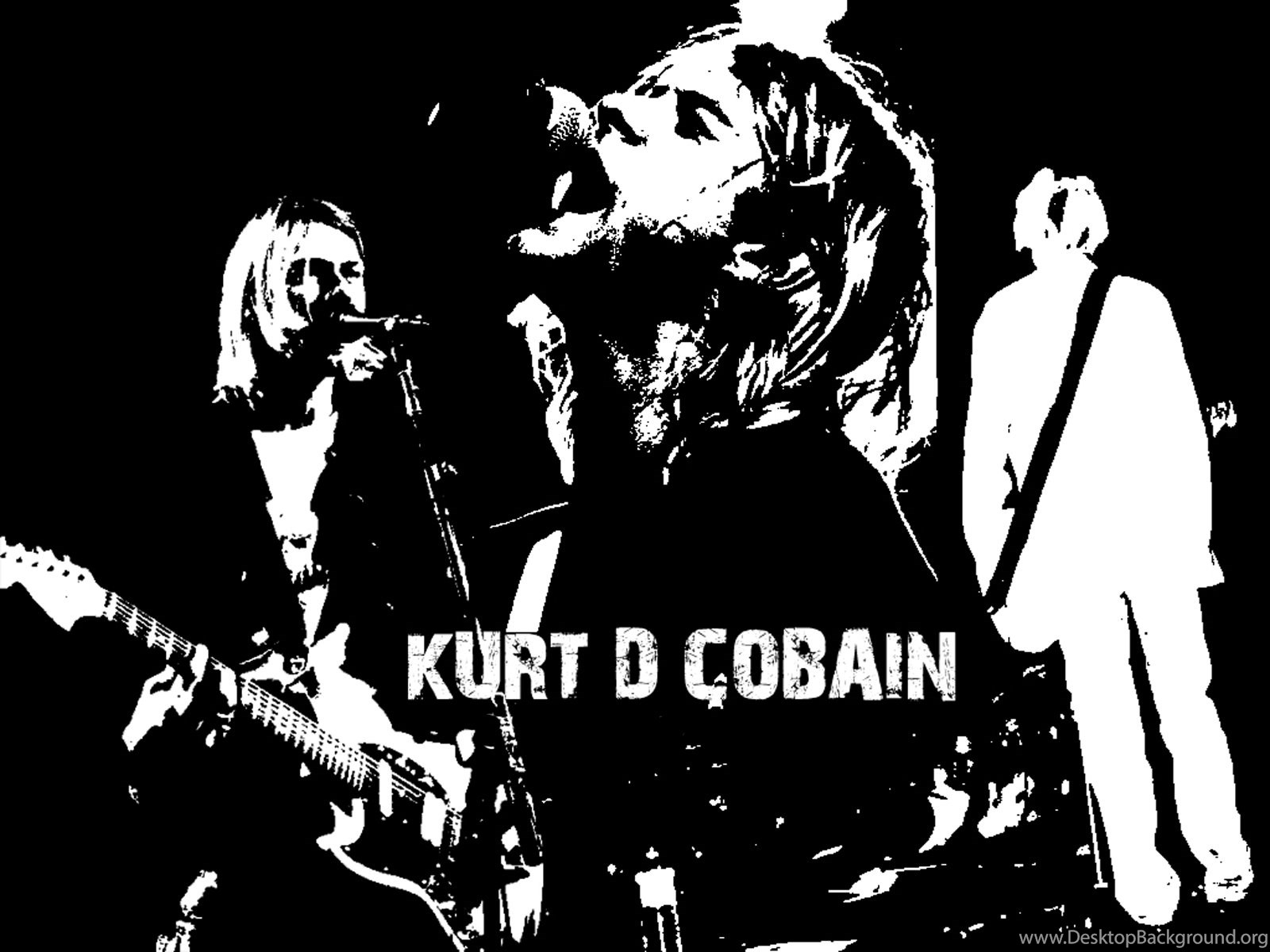 Nirvana Wallpapers Desktop BackgroundsKurt Cobain Wallpapers