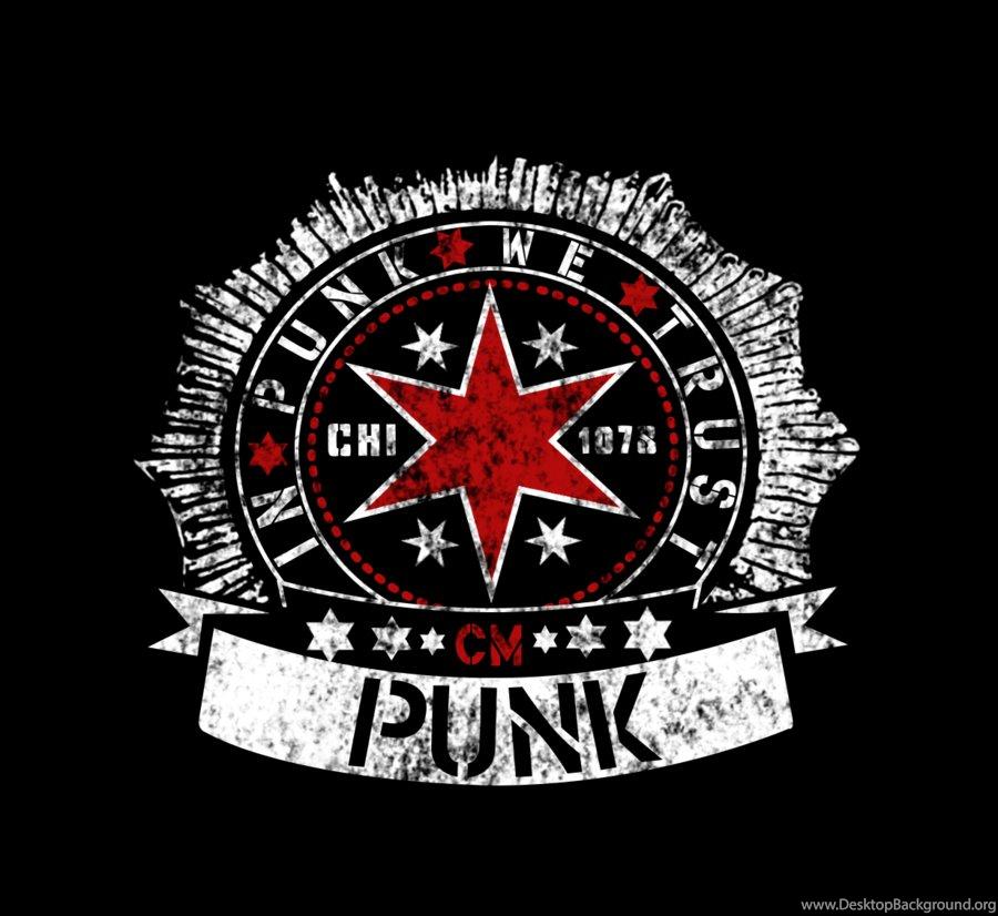 Deviantart More Like Cm Punk Logo By Ookamihun Desktop Background