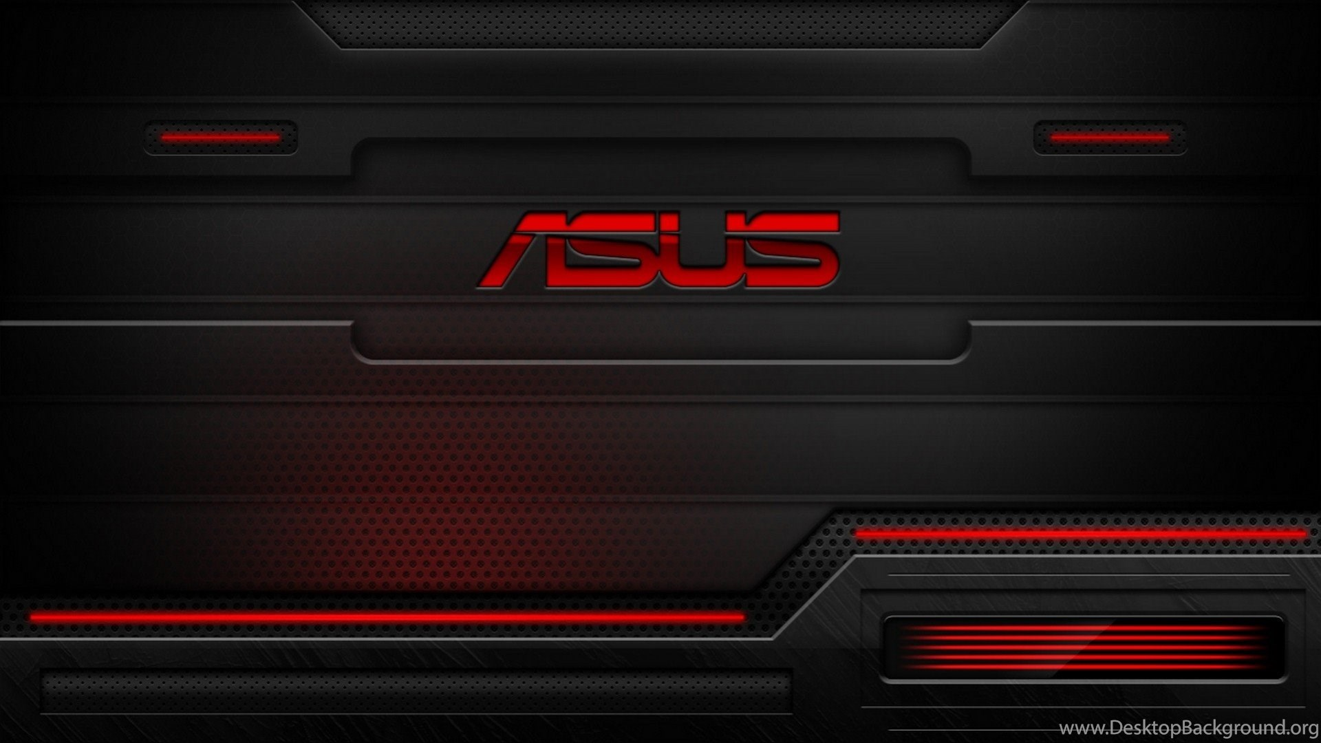 Hd red and black asus technology wallpapers for desktop - Asus x series wallpaper hd ...