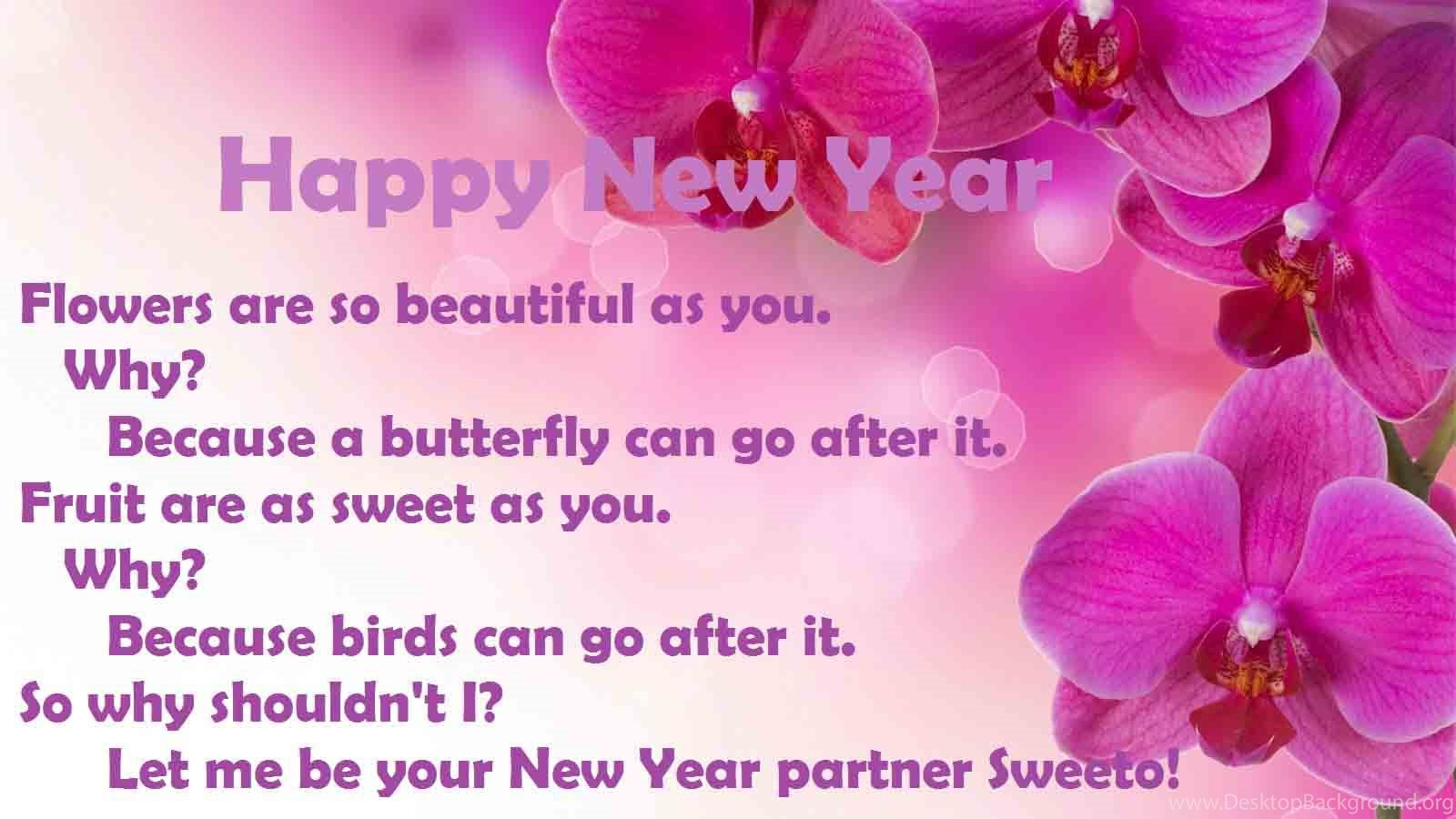 Happy New Year Sms Wallpapers 2016 Love Romantic Desktop Background