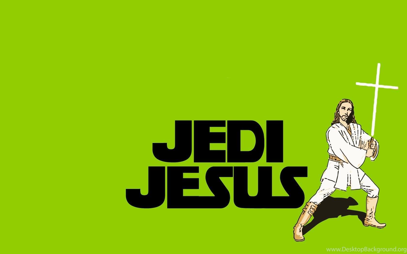 Funny Jedi Jesus Wallpapers Desktop Background