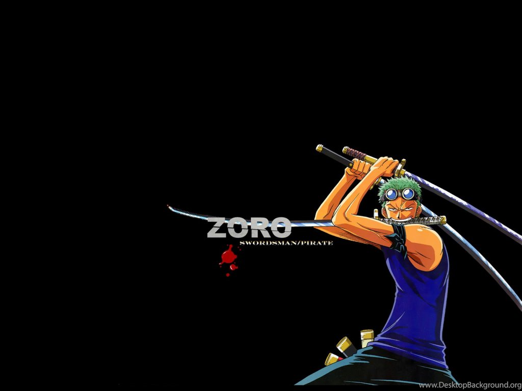 Roronoa Zoro One Piece Anime Wallpapers Black B Desktop Background