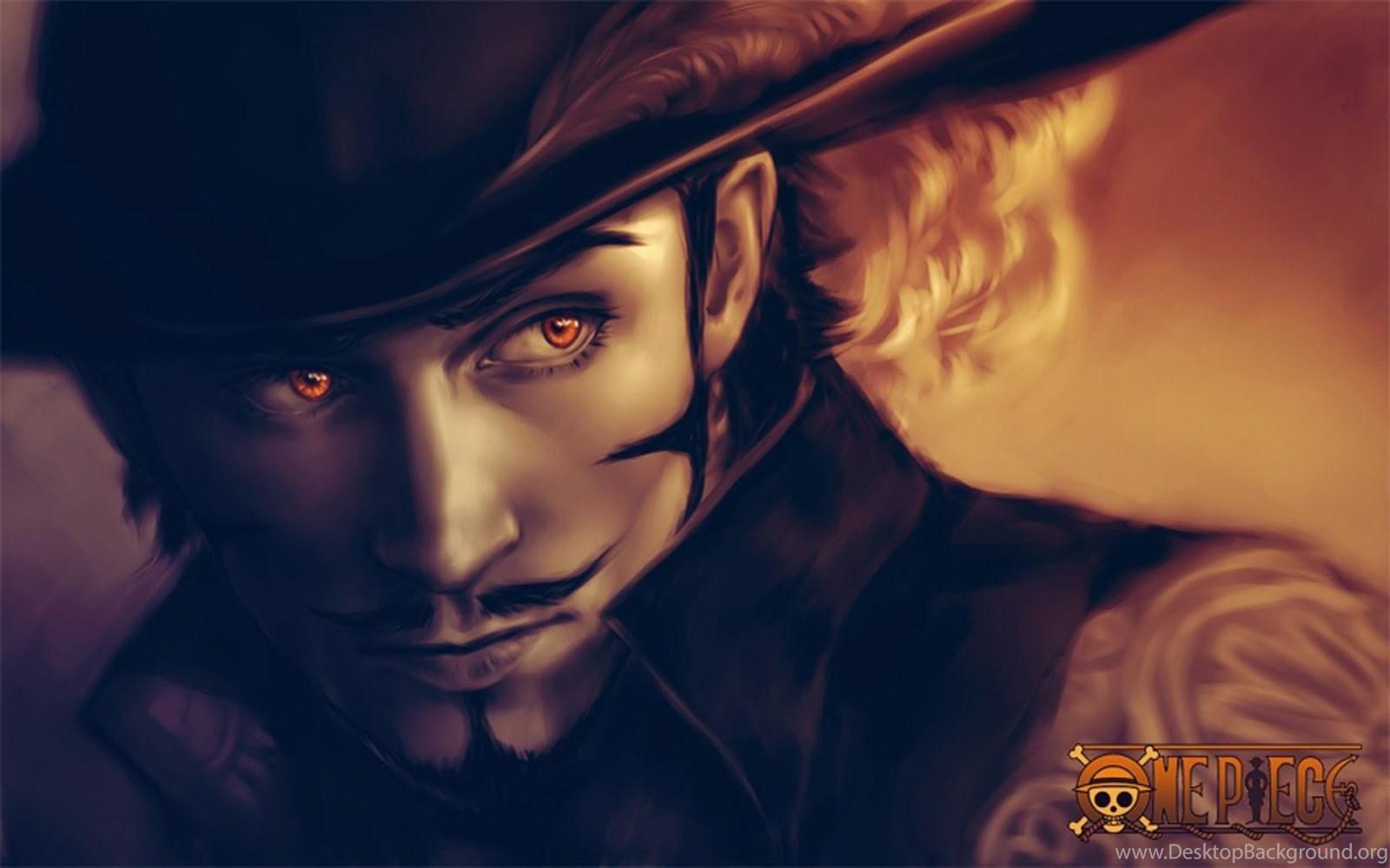 Wallpapers Juracule Mihawk 3d Hd One Piece Gallery Desktop Background