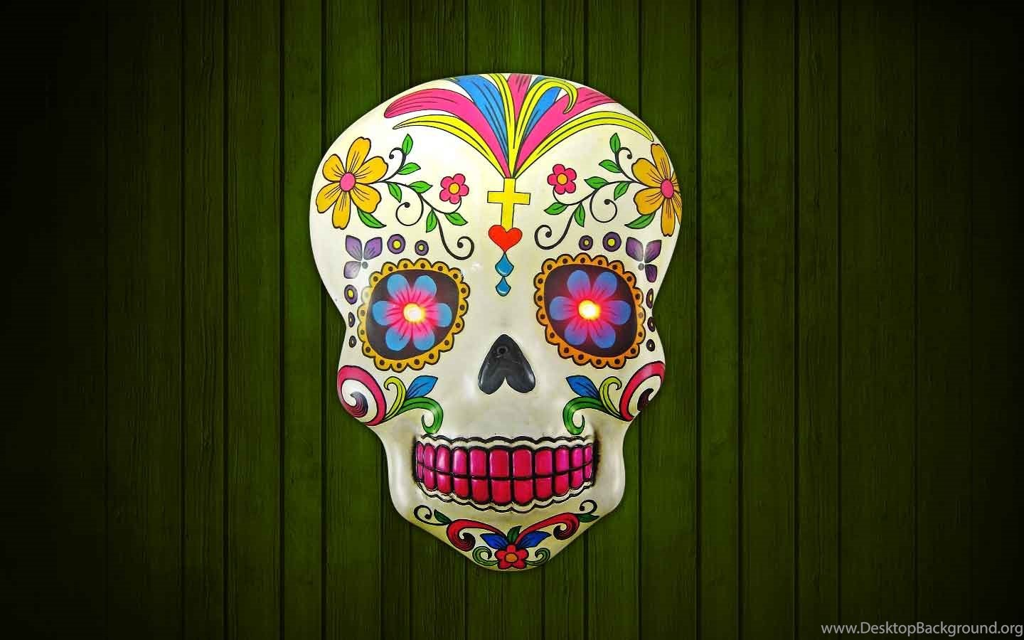 Day Of The Dead Mac Wallpapers Free Download Desktop Background