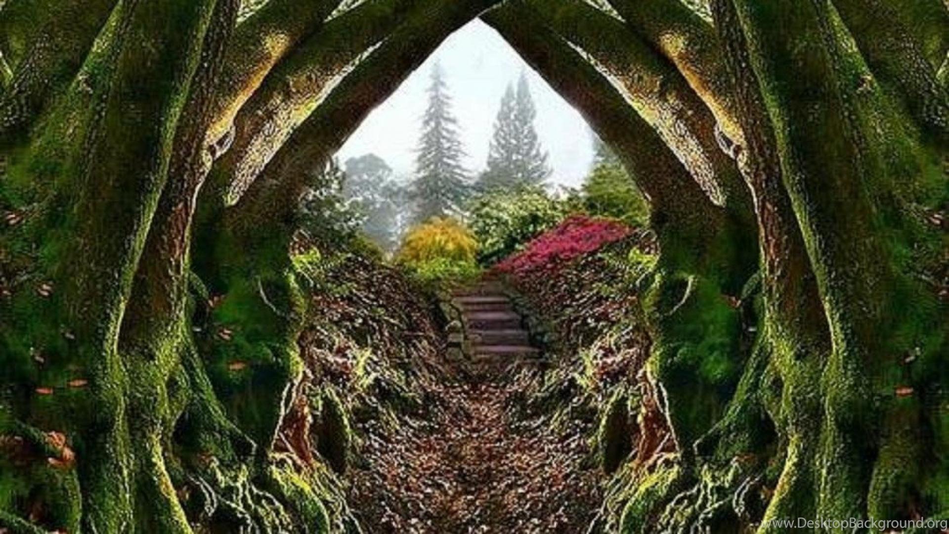 Entrance To The Secret Garden Wallpapers ( Desktop Background