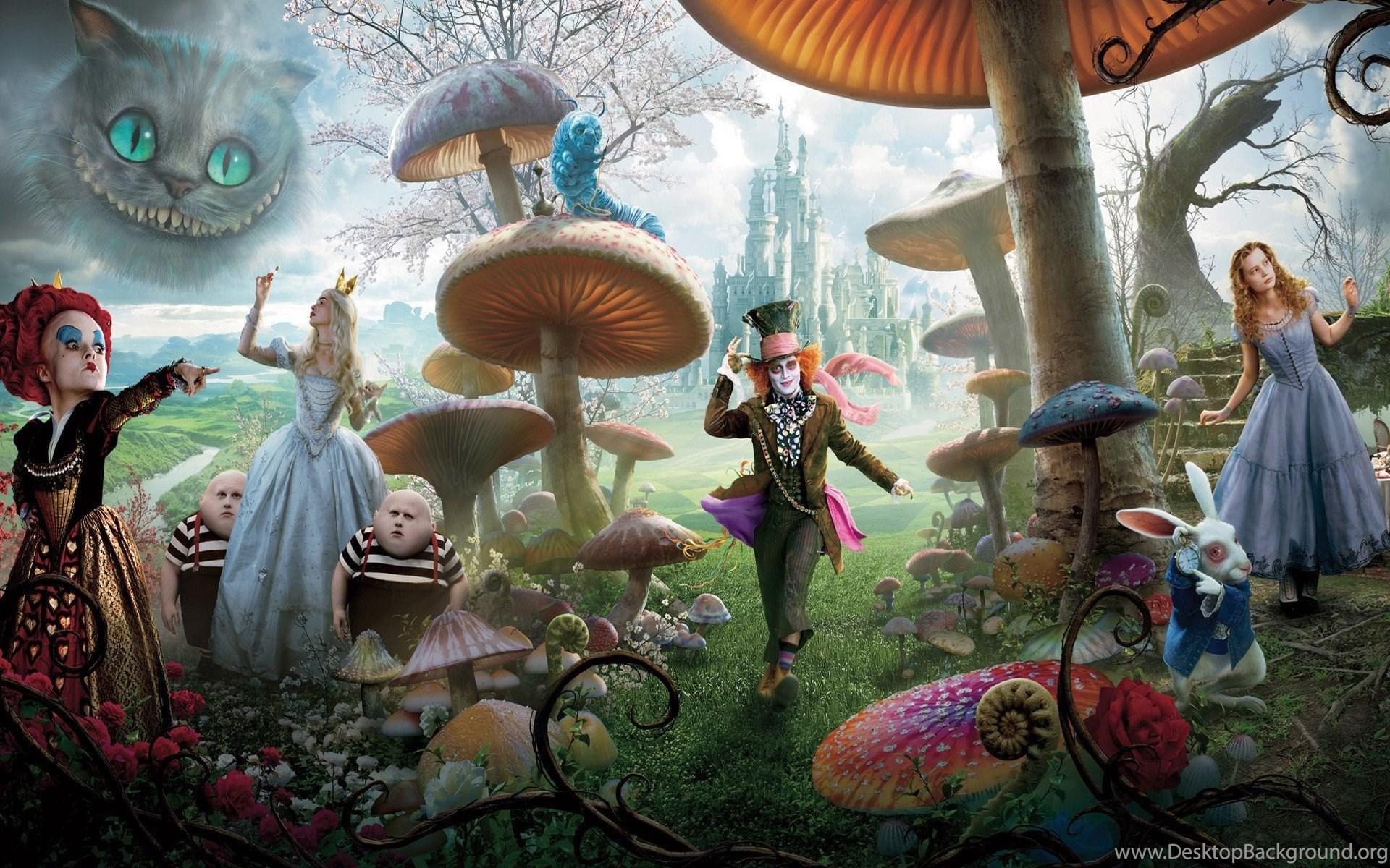 Alice In Wonderland Wallpapers Walldevil Best Free Hd Desktop