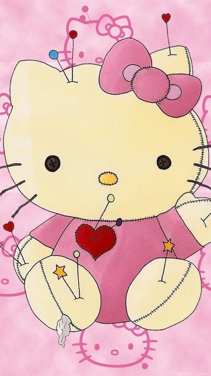 Hello Kitty Girly Wallpapers Iphone 6s Iphones Wallpapers Desktop