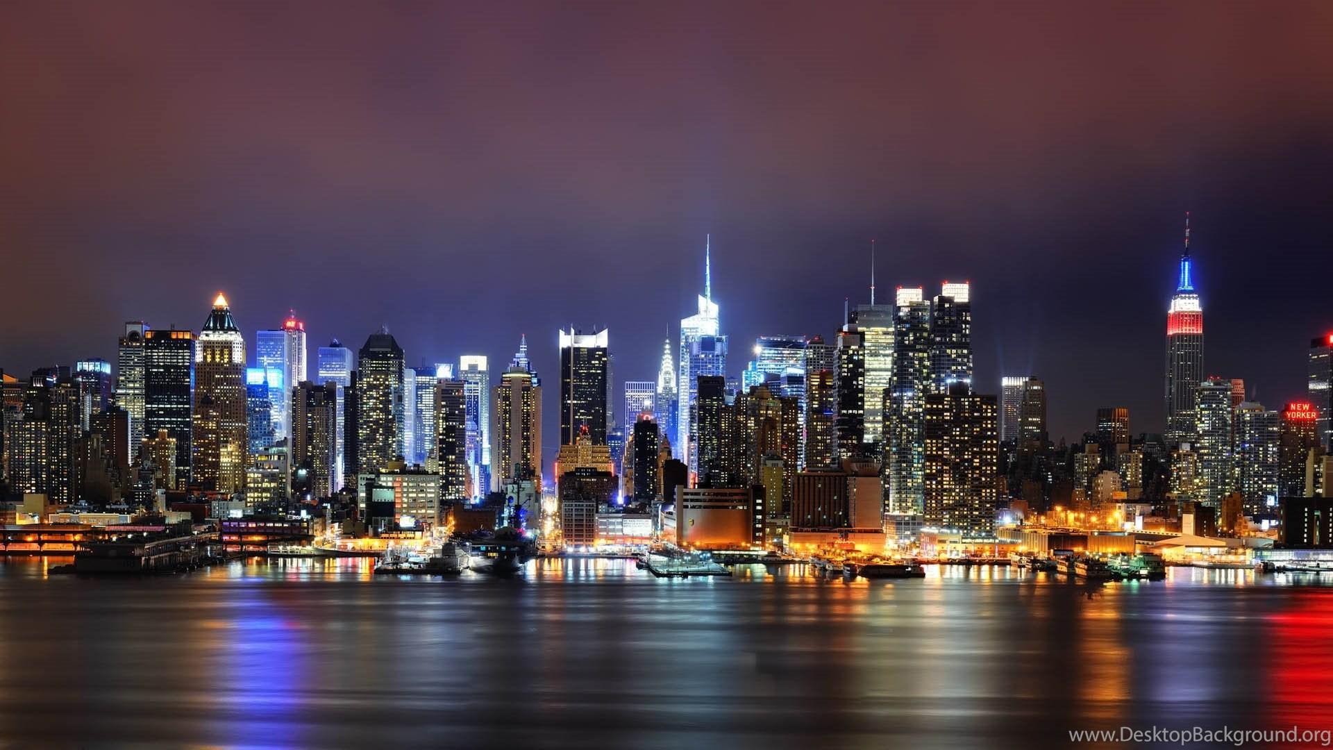City New York City Desktop Background Wallpaper 1080p Hd Image Desktop Background