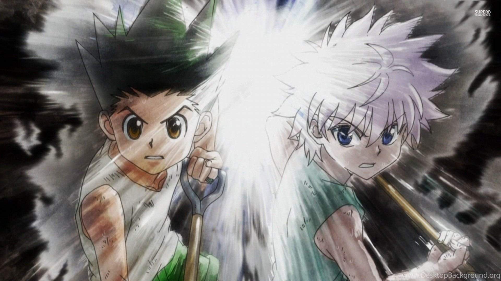 15 Hunter X Hunter Desktop Wallpapers Desktop Background