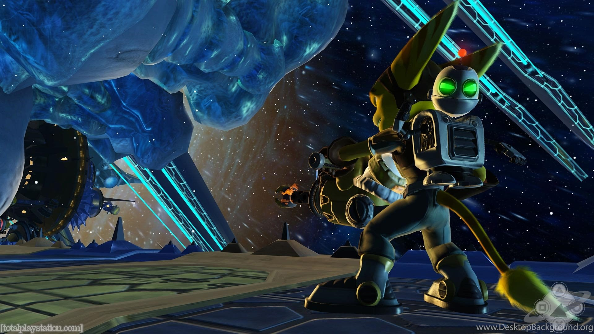 Top Ratchet And Clank On Wallpapers Desktop Background
