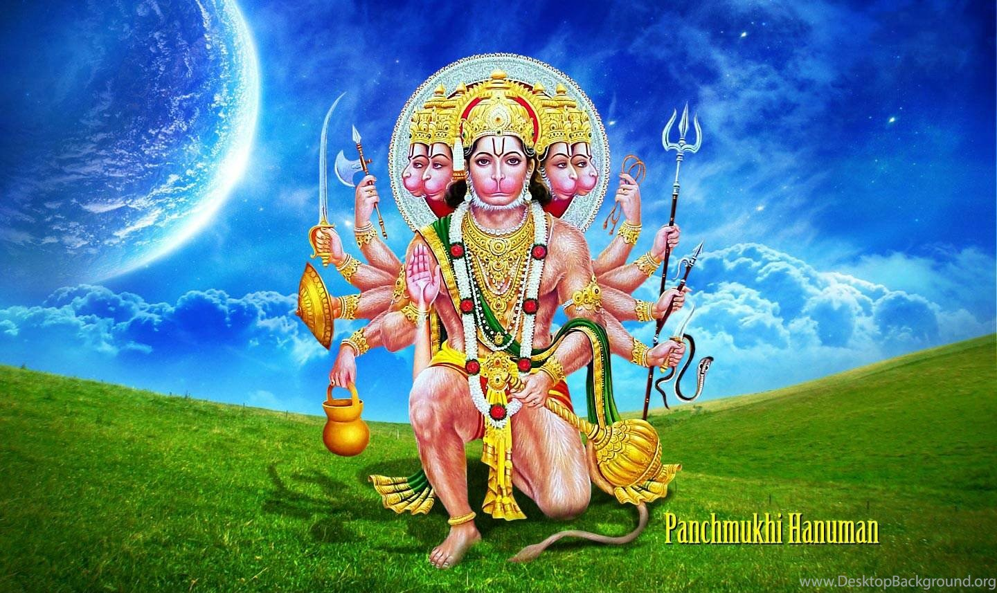 Lord Hanuman Panchmukhi Hanuman Wallpapers Hd 1080p Free Download