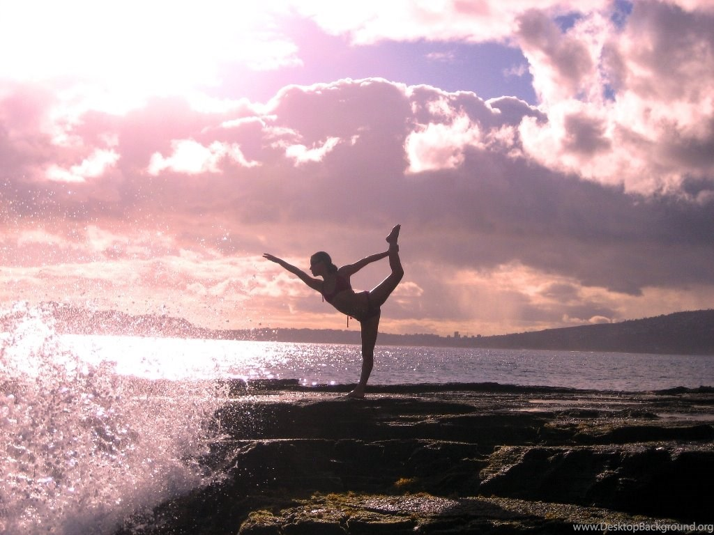Free Yoga Sunset Wallpapers Download The Free Yoga Sunset Desktop Background