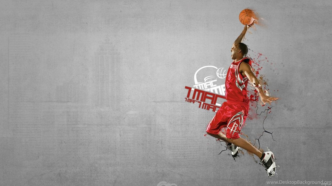 Wallpapers Basketball Adidas Mac Slam Dunk Up Net With 1366x768