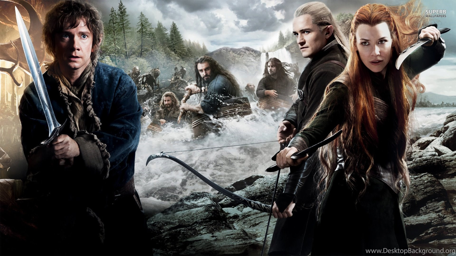 the hobbit the desolation of smaug wallpapers 1920x1080 wallpaper
