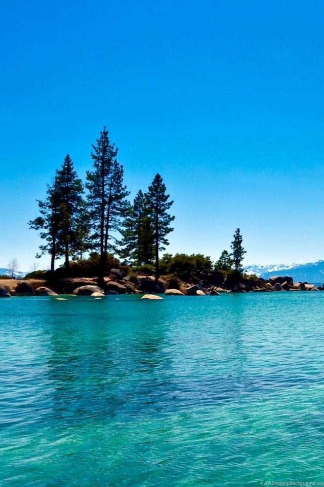 Lake Tahoe California Iphone 4s Wallpapers Download Desktop Background