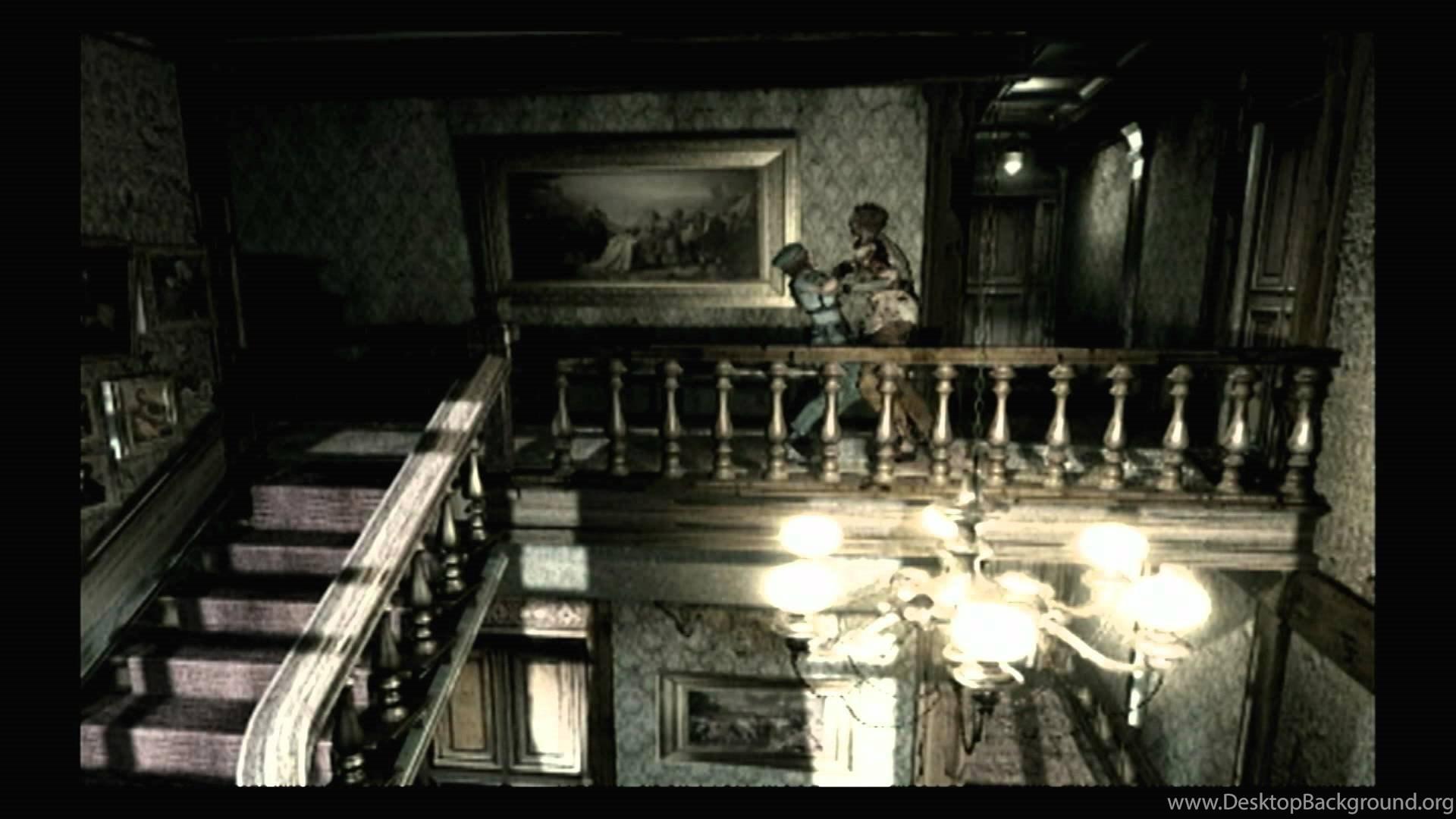 Cgrundertow Resident Evil For Nintendo Gamecube Video Game Desktop Background