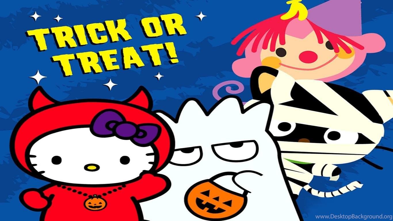 Kitty Hello happy halloween wallpaper pictures