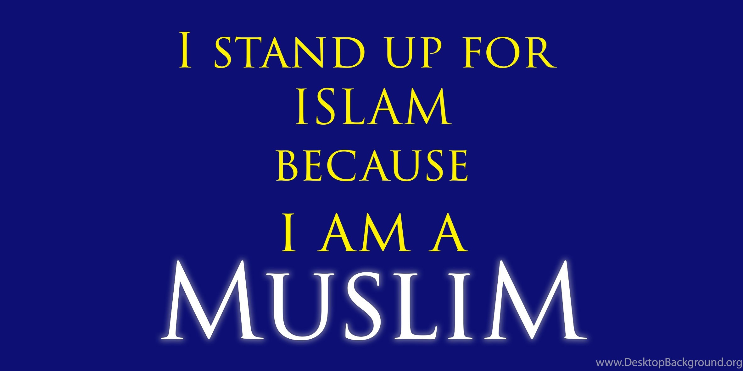 I AM A MUSLIM Free Wallpapers Desktop Background