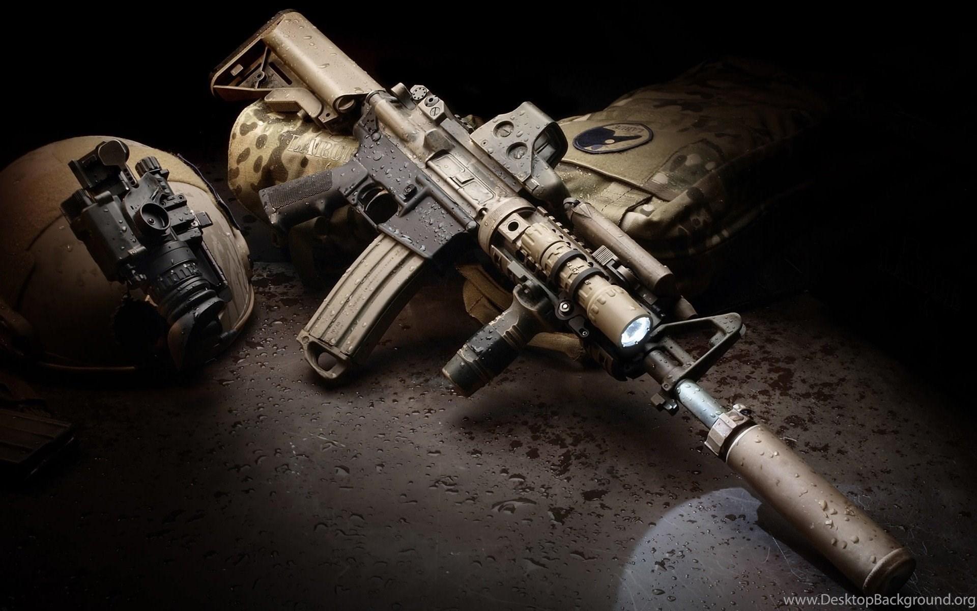 gun wallpapers desktop background