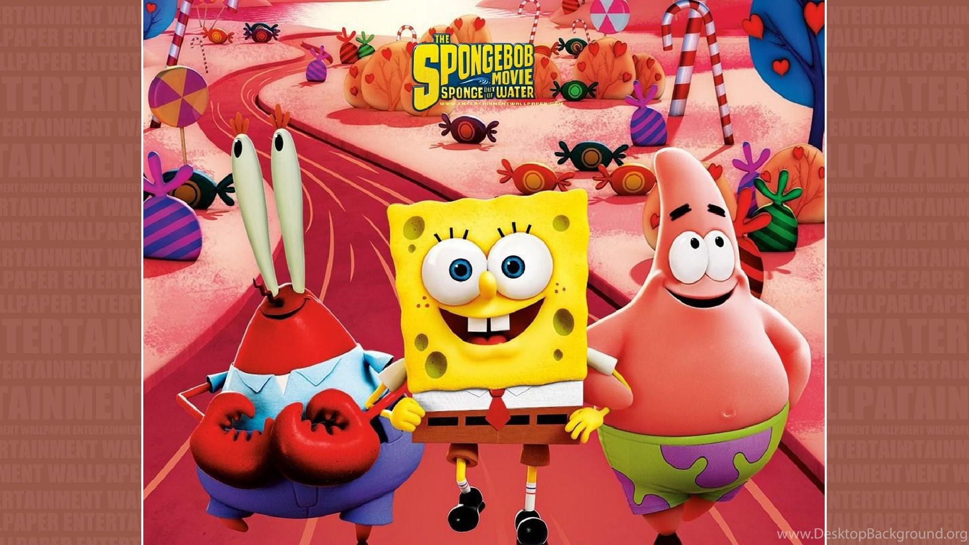 the spongebob movie: sponge out of water wallpapers desktop background
