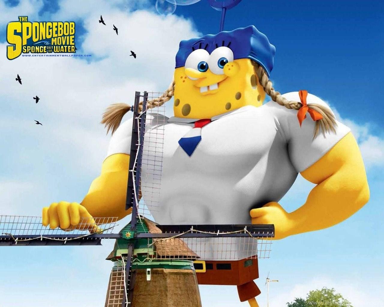 The Spongebob Movie Sponge Out Of Water Wallpapers Desktop Background